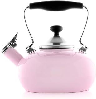 Chantal Zenith Teakettle, 1.8 quarts, Pink