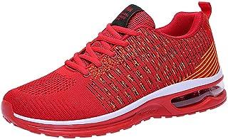 Homme Chaussures De Course Légère Running Sport Compétition Trail Entraînement Outdoor Respirant Mesh Confortable Ete Sold...
