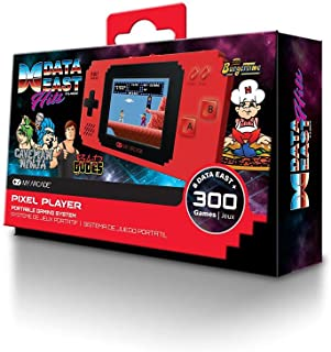 My Arcade Data East Pixel Player Portable Game System (Includes 300 Classic Games) (Electronic Games)