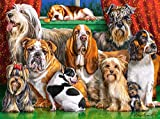 Castorland Dog Club 3000pieza(s) - Rompecabezas (Jigsaw Puzzle, Animales, Niños y Adultos, Perro, Niño/niña, 9 año(s))