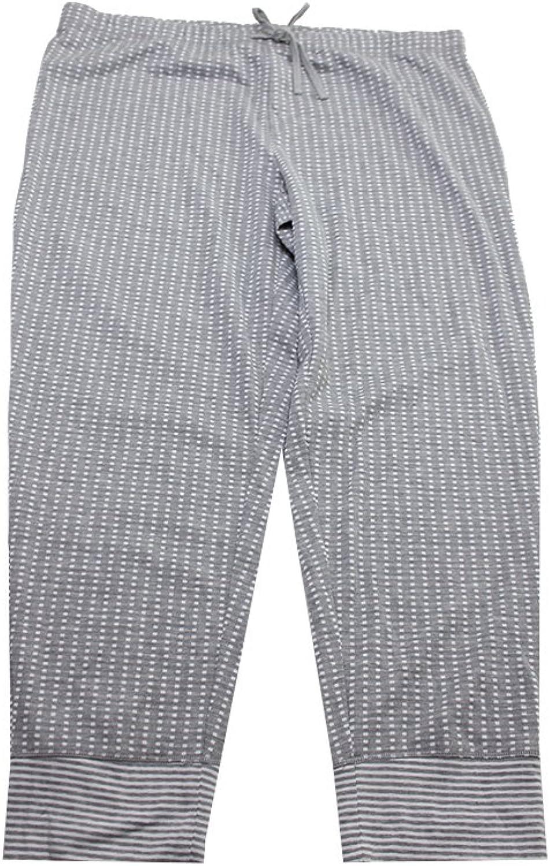 Alfani Womens Plus Jacquard Printed Lounge Pants