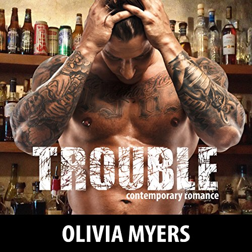 Contemporary Romance: Trouble audiobook cover art
