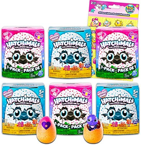 Hatchimals Blind Bag Mystery Pack Party Favors Bundle 6 Pack Hatchimals Colleggtibles Figurines product image