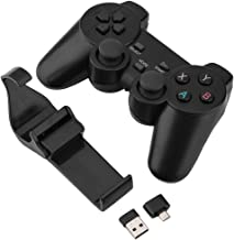 Liukouu 2.4G Wireless Smart Gamepad Bluetooth Game Controller for TV Box PC Mobile Phone
