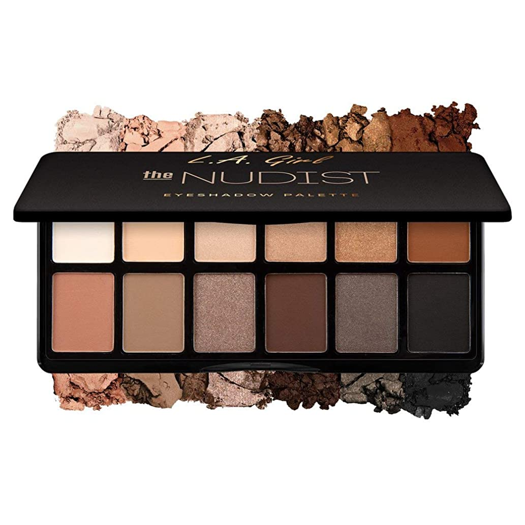 悲しい後退する願望(3 Pack) L.A. GIRL Fanatic Eyeshadow Palette - The Nudist (並行輸入品)