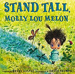 30 Books that teach social skills: Stand Tall, Molly Lou Melon