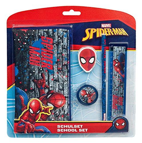 Schulset, Marvel Spider-Man, 5 teilig
