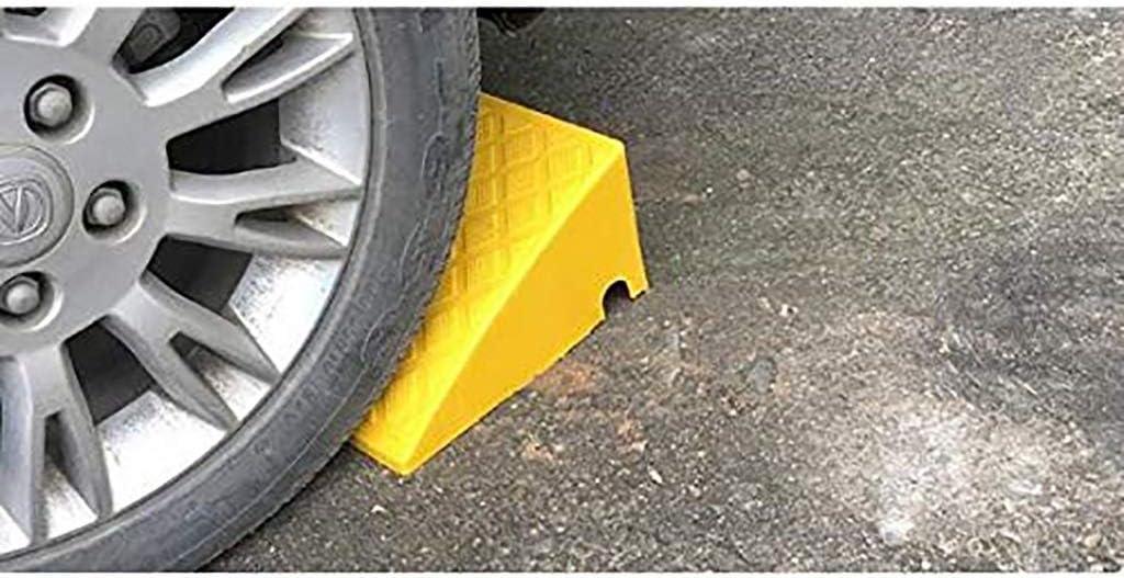 Portable Driveway Edge Slope for Wheelchair Car Vehicles Bike Motorbike Boat Trailer Parking Assistance Assist DJSMxpd Plastic Kerb Curb Ramps Color : Black, Size : 502713CM