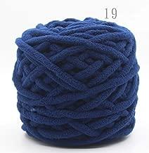Kriser 100g / pc algodón Colorido Tinte Bufanda Tejida a Mano de Hilo para la Bufanda Suave Leche Hilo de algodón Grueso Hilo de Lana, 19