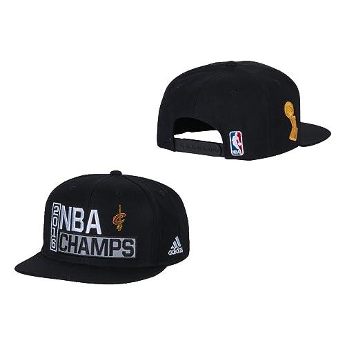 adidas Cleveland Cavaliers 2016 NBA Champions Offcial Locker Room Cap -  Black 6090146f9