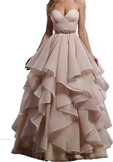 Abiti Da Sera Amazon.Amazon It Abito Da Sposa Vestiti Donna Abbigliamento