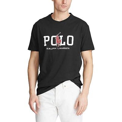 Polo Ralph Lauren Big & Tall Big Tall 26/1 Jersey Short Sleeve Classic Fit T-Shirt (Polo Black) Men