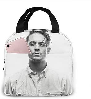 Me、 Myself & I - G-Eazy 大容量 ファスナー付き 前ポケット付き ハイクオリティエコ断熱材 弁当バッグ ランチバッグ Lunch Bag