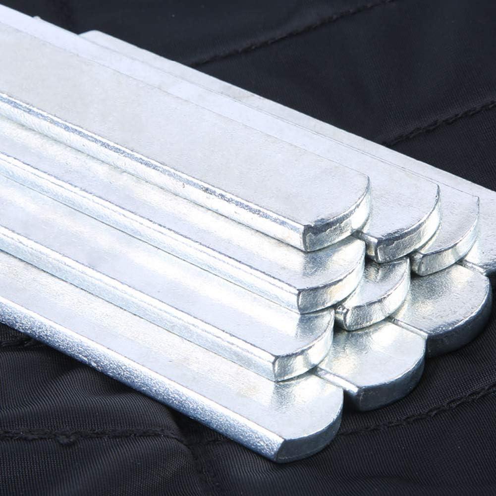 gilet con pesi regolabili in acciaio antiruggine e piastra in acciaio lunga con testa rotonda per il carico delle gambe gilet ponderato KOET