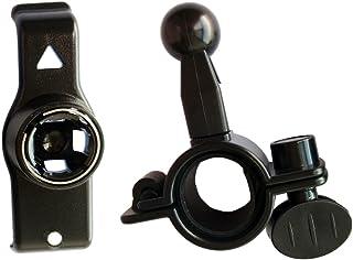 Gazechimp Fahrrad Und Motorradhalterung Für GPS Nuvi 25xx Serie (2500 2505 2515 2545 2515LT 2545LMT 2555LMT 2555LT 2585TV 2595 2595LMT) Schwarz