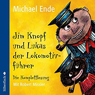 Jim Knopf und Lukas der Lokomotivführer. Die Komplettlesung                   By:                                                                                                                                 Michael Ende                               Narrated by:                                                                                                                                 Robert Missler                      Length: 7 hrs and 43 mins     9 ratings     Overall 4.9
