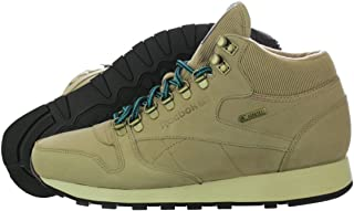 The Classic Leather Mid Gore-tex Sneaker In Canvas, Paper White, Teal Gem, Black 10 1/2 Tan