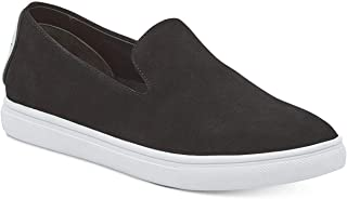 DKNY Womens Jilian Leather Low Top Slip On Fashion Sneakers US