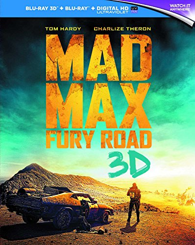 Mad Max: Fury Road [Blu-ray 3D] UK-Import, Sprache: Englisch.