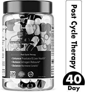 Post Cycle Therapy Supplement by Anabolic Warfare — Estrogen Blocker DIM Supplement for Men with Liver Support*