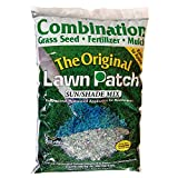 Amturf 34332 Sun/Shade Lawn Patch 5-Pound Bag , green