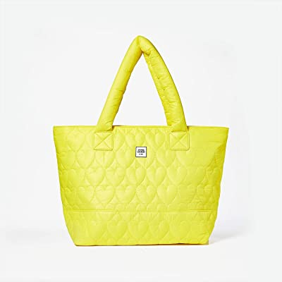 Opening Ceremony Quilted Medium Chinatown Tote (Fluo Yellow) Handbags