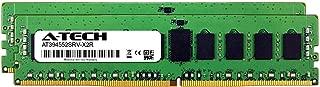 A-Tech 32GB Kit (2 x 16GB) for ASUS Z10PE-D16 WS - DDR4 PC4-21300 2666Mhz ECC Registered RDIMM 1rx4 - Server Memory Ram (AT394552SRV-X2R3)