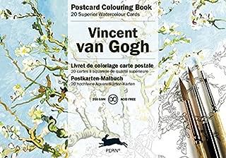 Van Gogh (Postcard Colouring Books) (English, Spanish, French, Italian and German Edition)