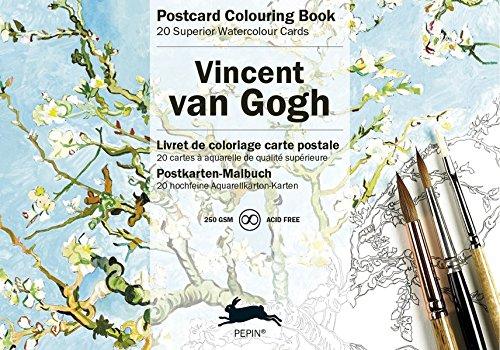 Van Gogh: Postcard Colouring Book / Postkarten - Malbuch (Postcard Colouring Books)