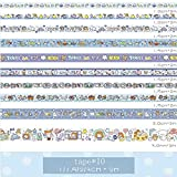 Zoom IMG-2 50 rotoli washi tape set