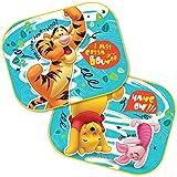 2 cortinas parasoles para el coche, protección UV, diseño de Mickey – Cars – Starwars Winnie/protección UV, regalo para niños – Winnie The Pooh