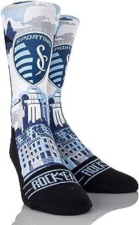 Rock 'Em Apparel MLS Sporting Kansas City Custom Athletic Crew Socks