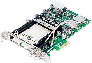 Geniatech X9120 PCIE DVB-S2/S Digital High Definition Satellite Dual Tuner CI Card for HTPC/IPTV/Linux Server