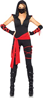 Women's 5 Piece Deadly Ninja Costume