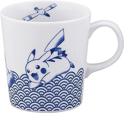 山加商店 マグカップ 染付 300ml 「 ポケットモンスター 」 マグ カップ 青海波柄 PM181-11