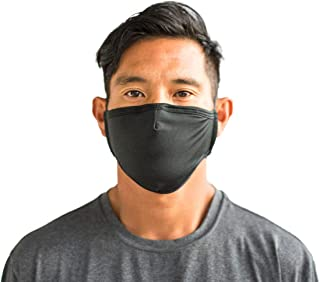 Venley 100% Cotton Face Cover (3pk or 6pk) w/Behind the Head Straps, Nose Wire, and Filter Pocket (Filter not included)