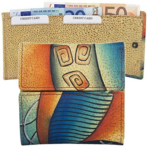 Greenland Art + Craft Geldbörse Leder 10 cm