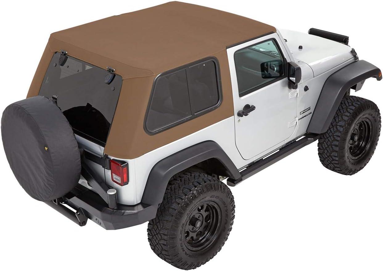Max 74% OFF Bestop 5486271 Trektop Pro for Jeep in Ranking TOP18 2-Door JK Wrangler Oak
