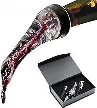 TXOZOA Wine Aerator Pourer, Corkscrew Wine Opener, Wine Vacuum Stopper Perfect Wine Gift Set This Deluxe Decanter is Excellent for Wine Lovers