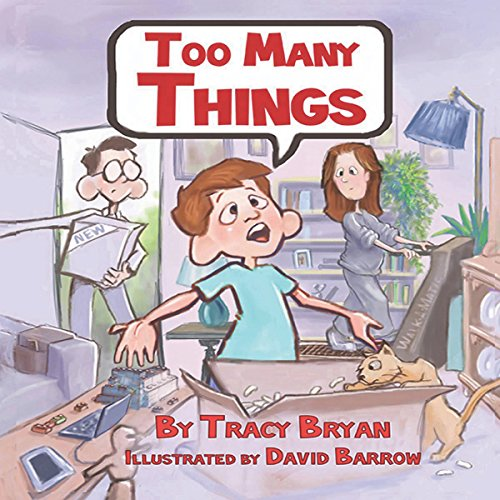 Too Many Things! audiobook cover art