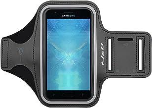 J&D Compatible para Galaxy Xcover 4S/Galaxy A40/J3 2018/J3 V 3rd Gen/J3 Achieve/J3 Star/Amp Prime 3/Galaxy S20 Plus/S20+ Brazalete Deportivo para Correr, Ranura para Llaves, Conexión con Auriculares