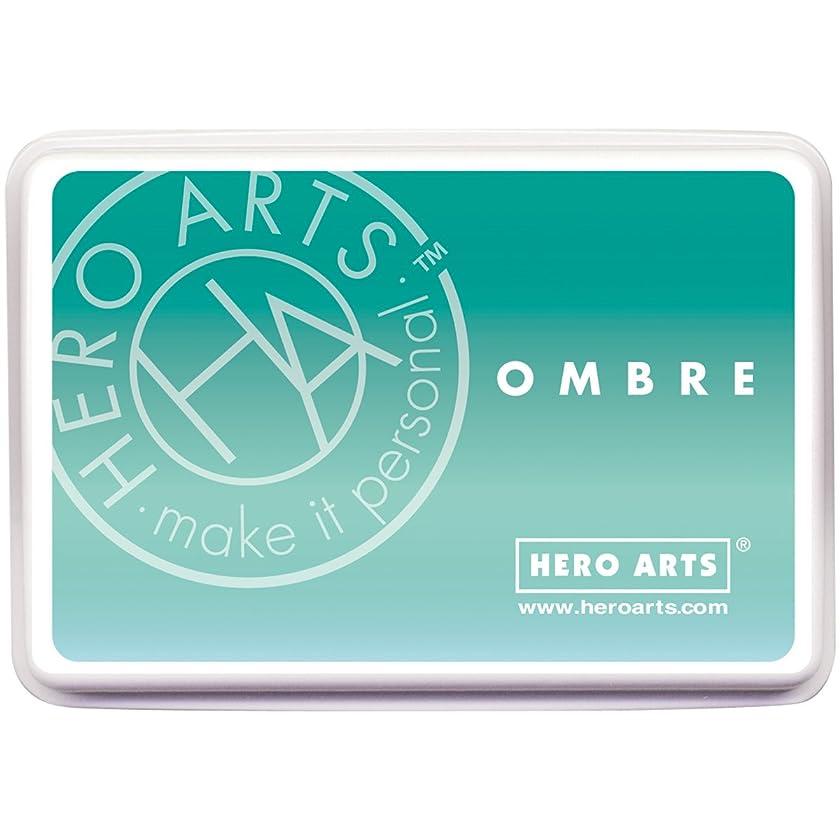 Hero Arts AF310 Ink Pad, Ombre Mint/Green