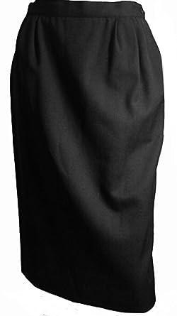 Austin Reed Classics 100 Wool Burton Skirt Lined Black 16 At Amazon Women S Clothing Store
