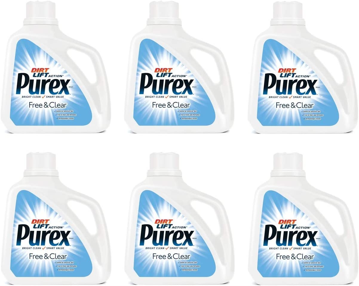 Purex Ultra Concentrated Max 48% OFF Liquid Unscented Detergent Ranking TOP6 Fluid 150