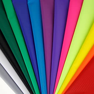 emma kites 40D Ripstop Nylon Fabric 1.4Oz yd² PU Coating Water Repellent Airtight - Outdoor Fabric for Kites Inflatable Du...