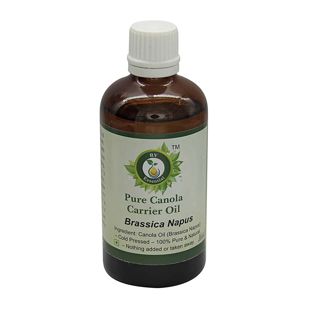 愛国的な若者衝突コースR V Essential 純粋なキャノーラキャリアオイル10ml (0.338oz)- Brassica Napus (100%ピュア&ナチュラルコールドPressed) Pure Canola Carrier Oil