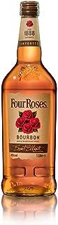 Four Roses Kentucky Straight Bourbon Whiskey / Sanfte Komposition aus 10 verschiedenen Whiskeys / Bourbon mit fruchtig-süßem Geschmack / 1 x 1 L