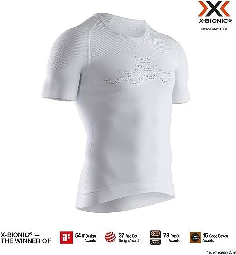 X-Bionic Energizer 4.0 lumière Shirt V Neck manche courte Hommes Homme