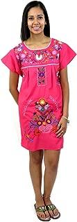 Leos Imports (TM) Mexican Dress Puebla Short