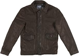 Land Rover Official Merchandise Men's Heritage Leather Jacket